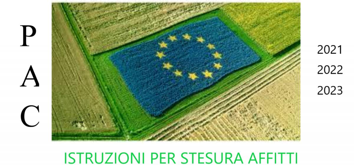 RINNOVO E STIPULA CONTRATTI DI AFFITTO AI FINI DELLA NUOVA PAC 2023.
