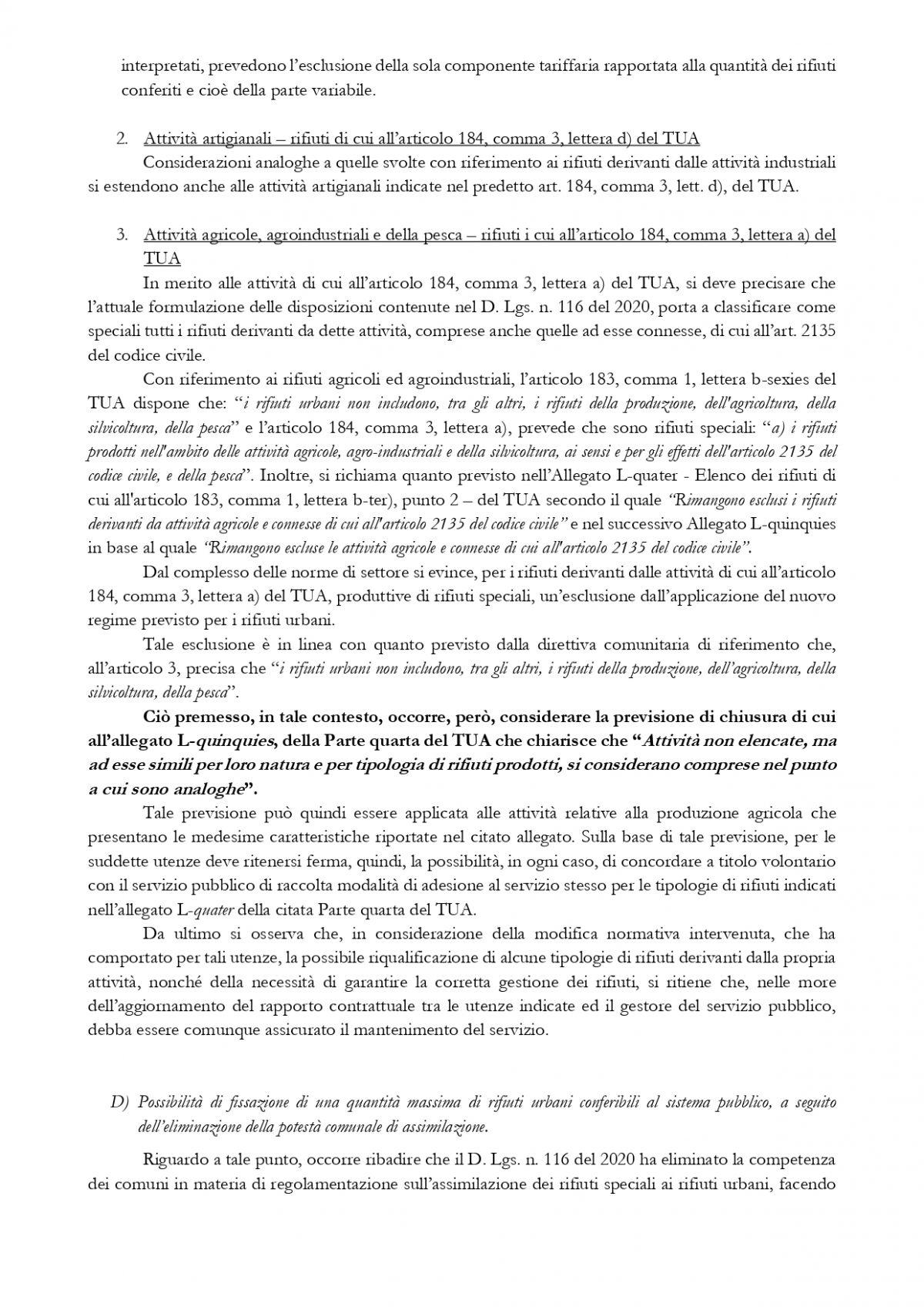 TARI: TASSA RIFIUTI, ESONERO PER AZIENDE AGRICOLE,  Circolare del 12 aprile 2021 del Ministero dell'Ambiente